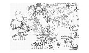 206 GT Dino - Table 14 - Engine Lubrication