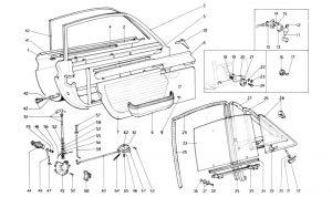 246 Dino GT - Table 109 - Doors