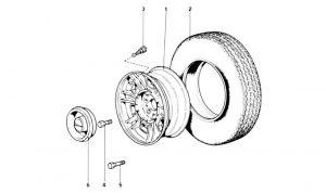 246 Dino GT - Table 35 - Wheels