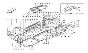 F355 - 5.2 - Table 107 - Body - Shield And Wheelhouses