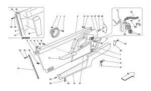 F355 - 5.2 - Table 124 - Doors - Inner Trims