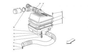 F355 - 5.2 - Table 13 - Air Intake