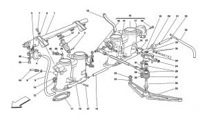 F355 - 5.2 - Table 14 - Throttle Holders And Controls