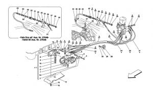F355 - 5.2 - Table 27 - F1 Clutch Hydraulic Control -Valid For 355 F1 Cars
