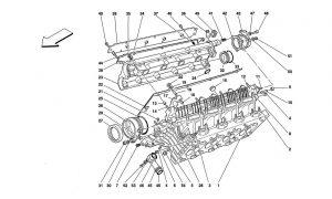 F355 - 5.2 - Table 3 - R.H. Cylinder Head
