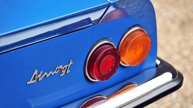 Dino 246 GT Rear